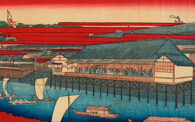 芳光(嘉永3年(1850)~明治24年(1891))画 / 所蔵 大阪府立中之島図書館